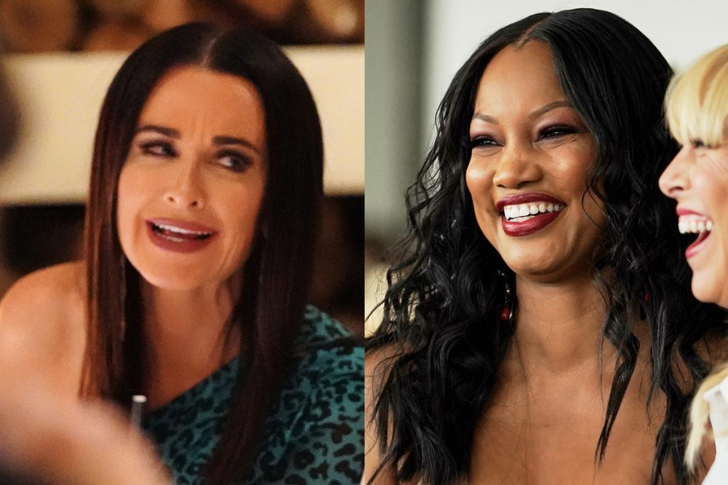 Kyle Richards and Garcelle Beauvais