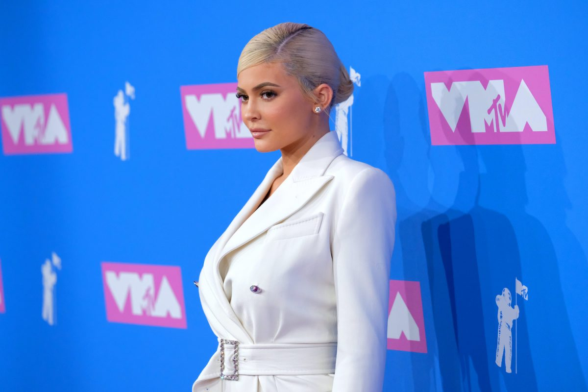Kylie Jenner attends the 2018 MTV Video Music Awards at Radio City Music Hall