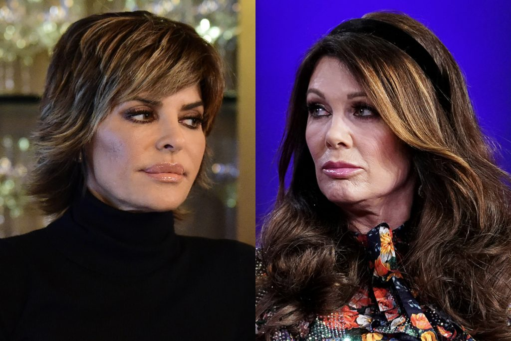 Lisa Rinna and Lisa Vanderpump