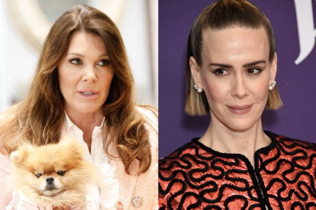 'RHOBH': Sarah Paulson Mocks Lisa Vanderpump Fans After the 'Not-So-Nice' Incident