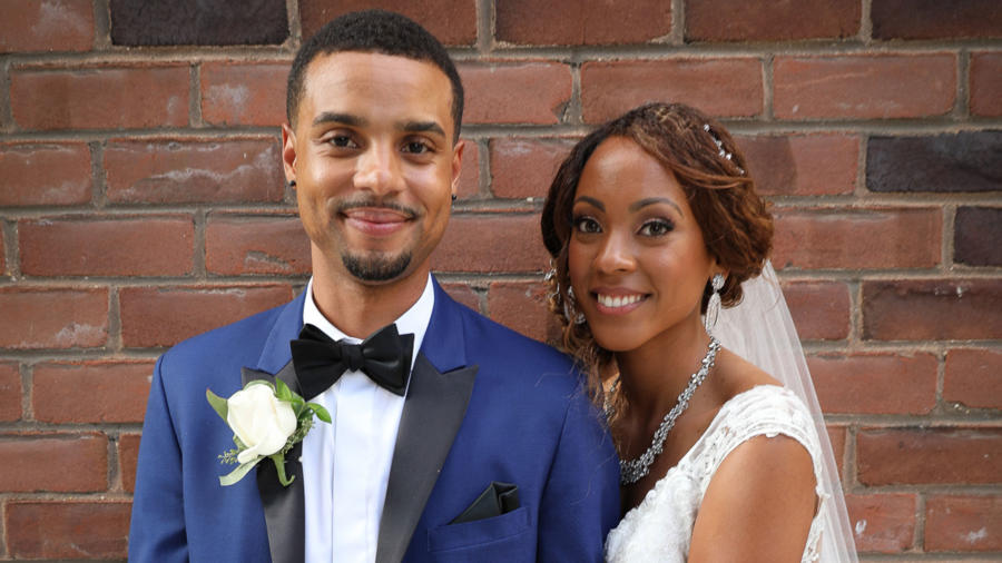 Brandon Reid and Taylor Dunklin of Married at First Sight
