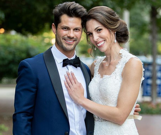 Married at First Sight couple Mindy Shiben and Zach Justice