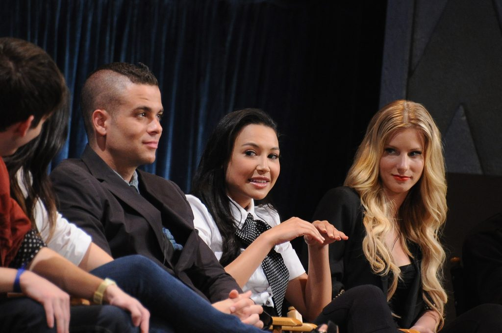 Mark Salling, Naya Rivera, and Heather Morris | Michael Buckner/Getty Images