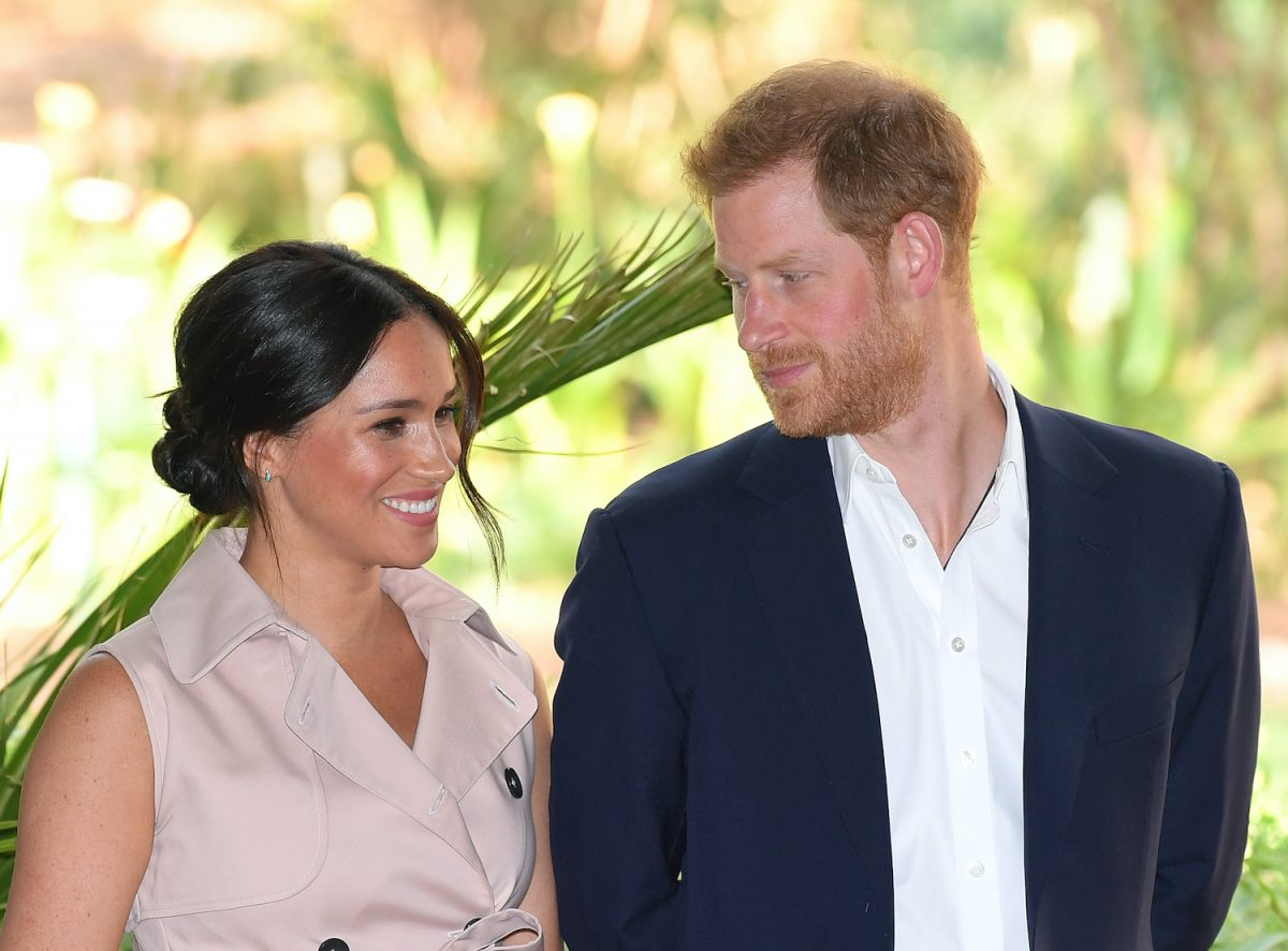 Meghan Markle and Prince Harry attend a reception to celebrate the UK and South Africa's important business and investment relationship at the High Commissioner's Residence, Johannesburg, South Africa