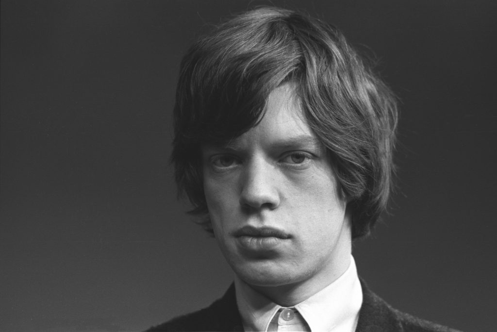 Mick Jagger with a mop top