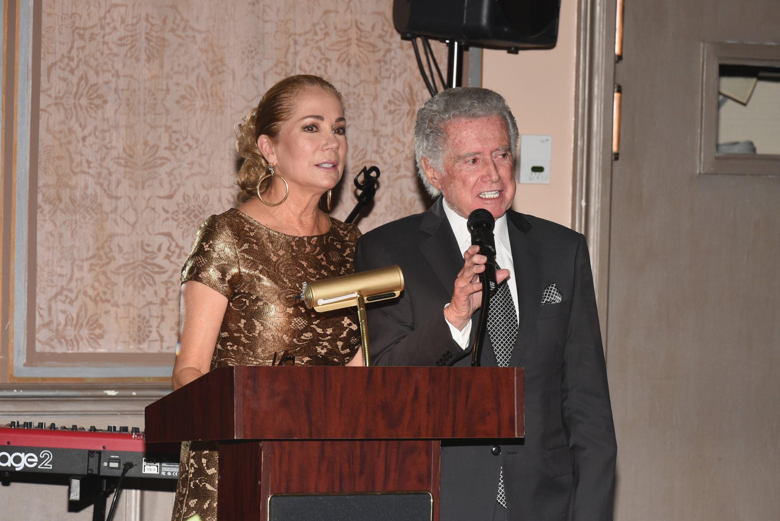 Kathie Lee Gifford and Regis Philbin