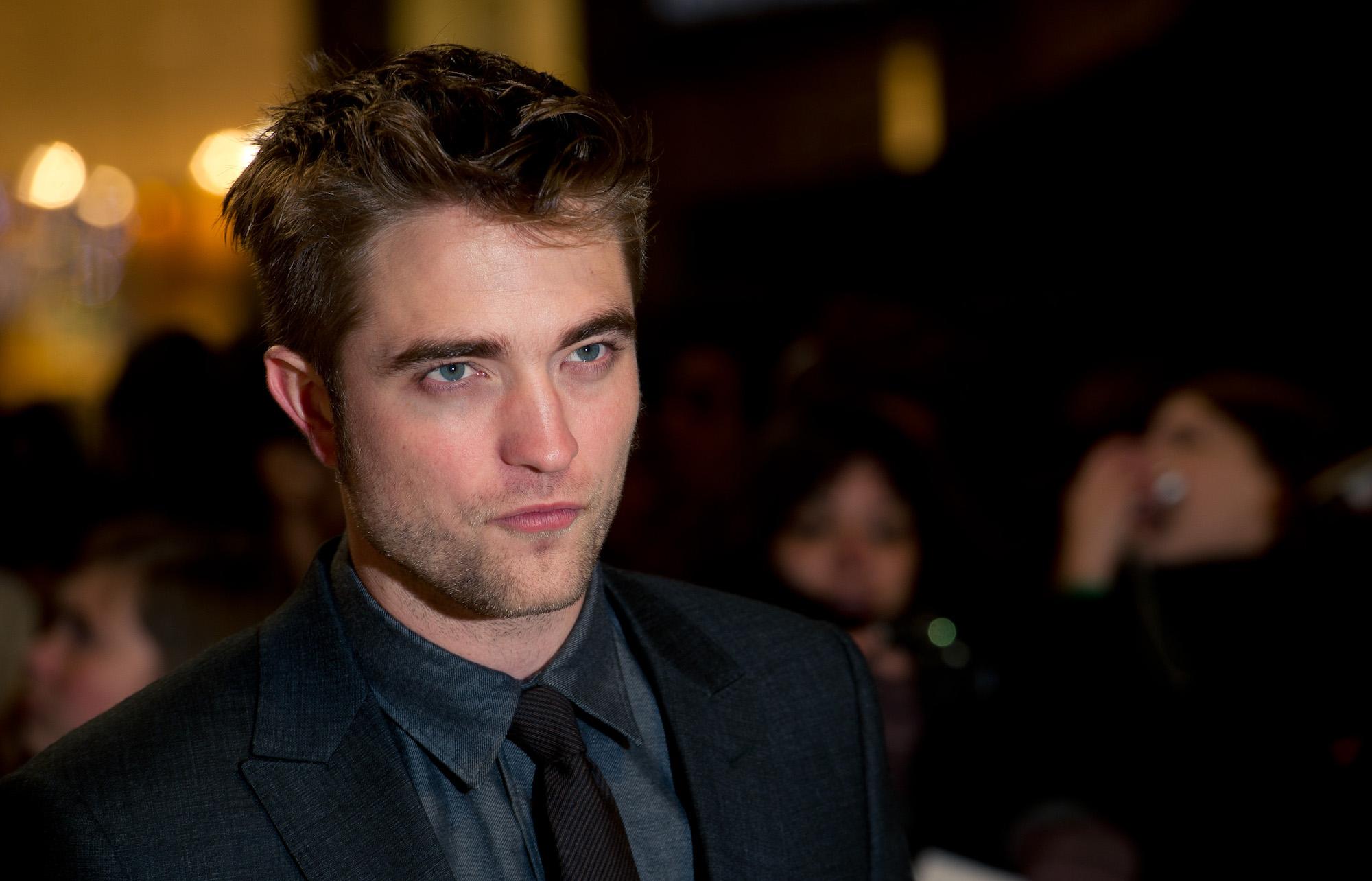 Robert Pattinson at the UK premiere of 'The Twilight Saga: Breaking Dawn Part 1' on Nov. 16, 2011