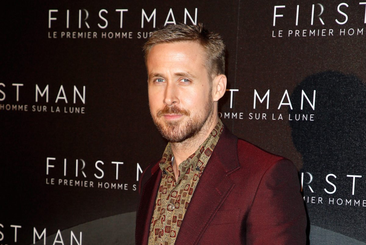 Ryan Gosling on the red carpet