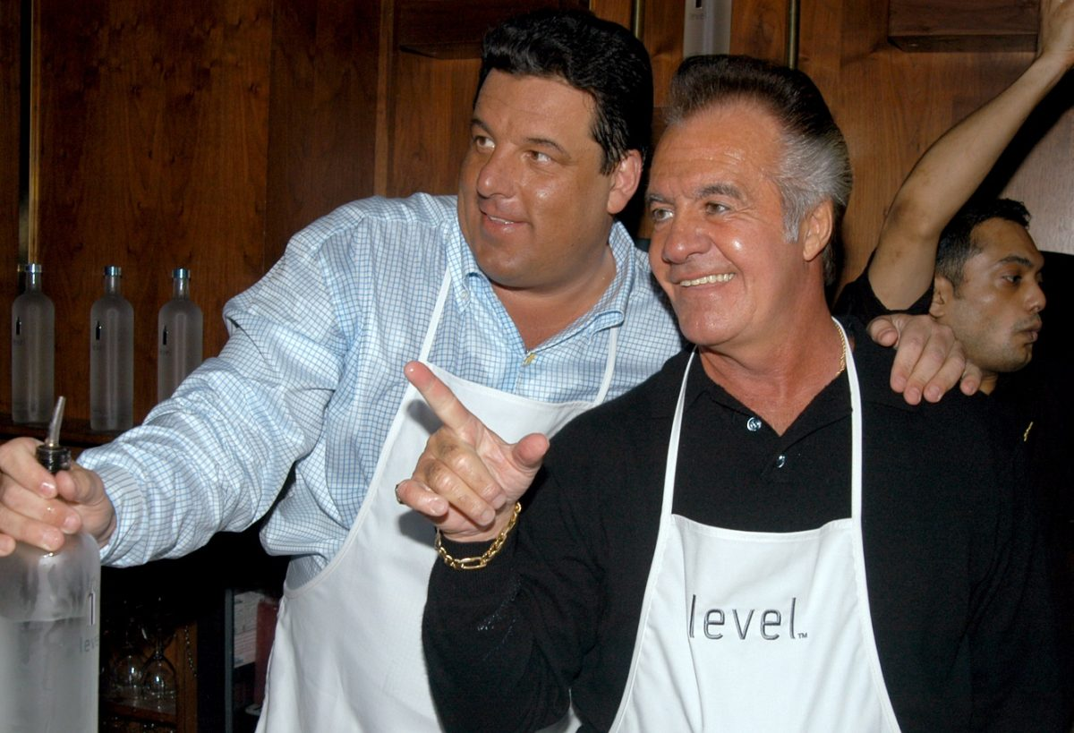 Schirripa and Sirico at a charity event