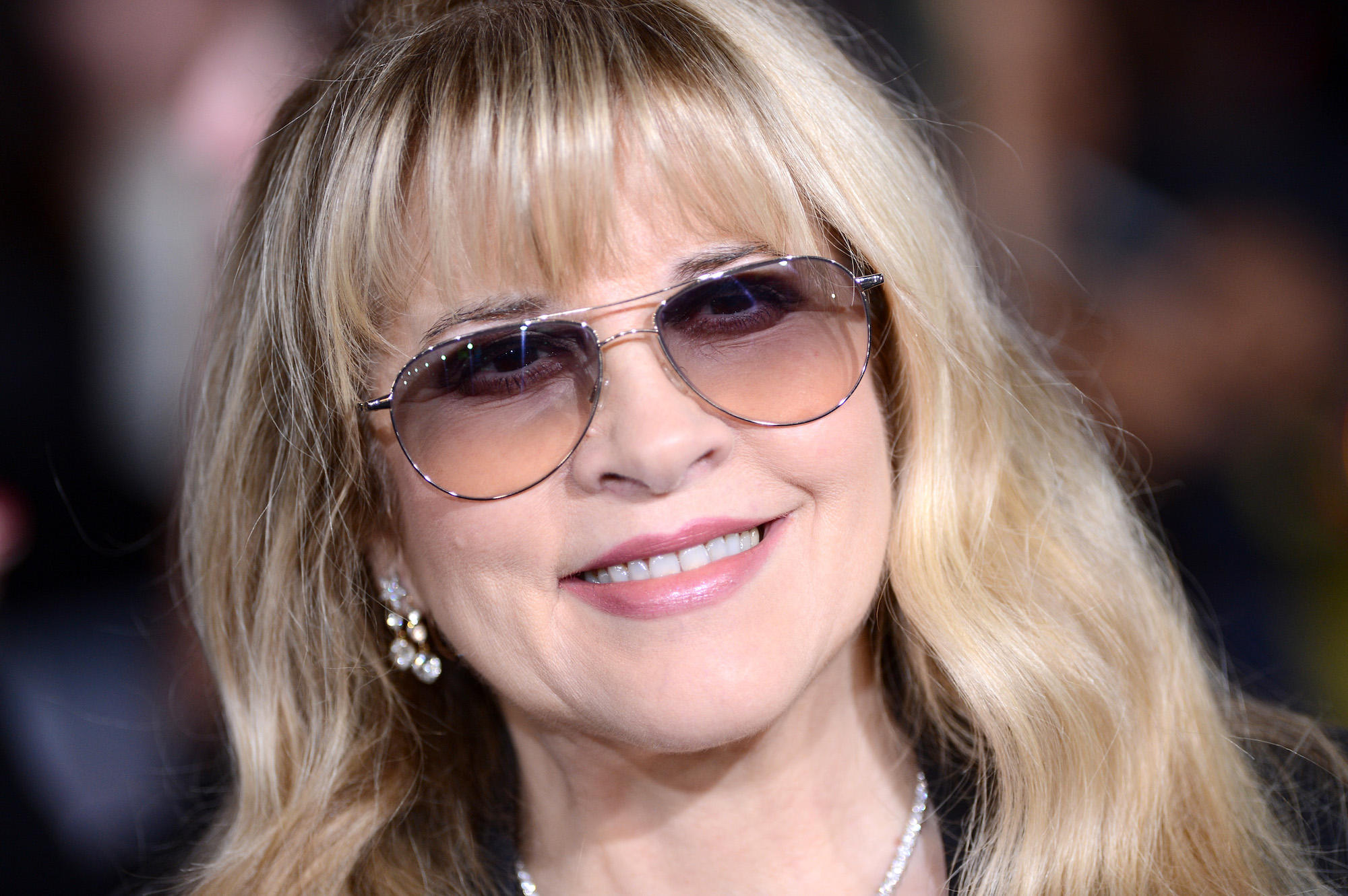 Stevie Nicks at the premiere of 'The Twilight Saga: Breaking Dawn - Part 2' at Nokia Theatre L.A. on Nov. 12, 2012.