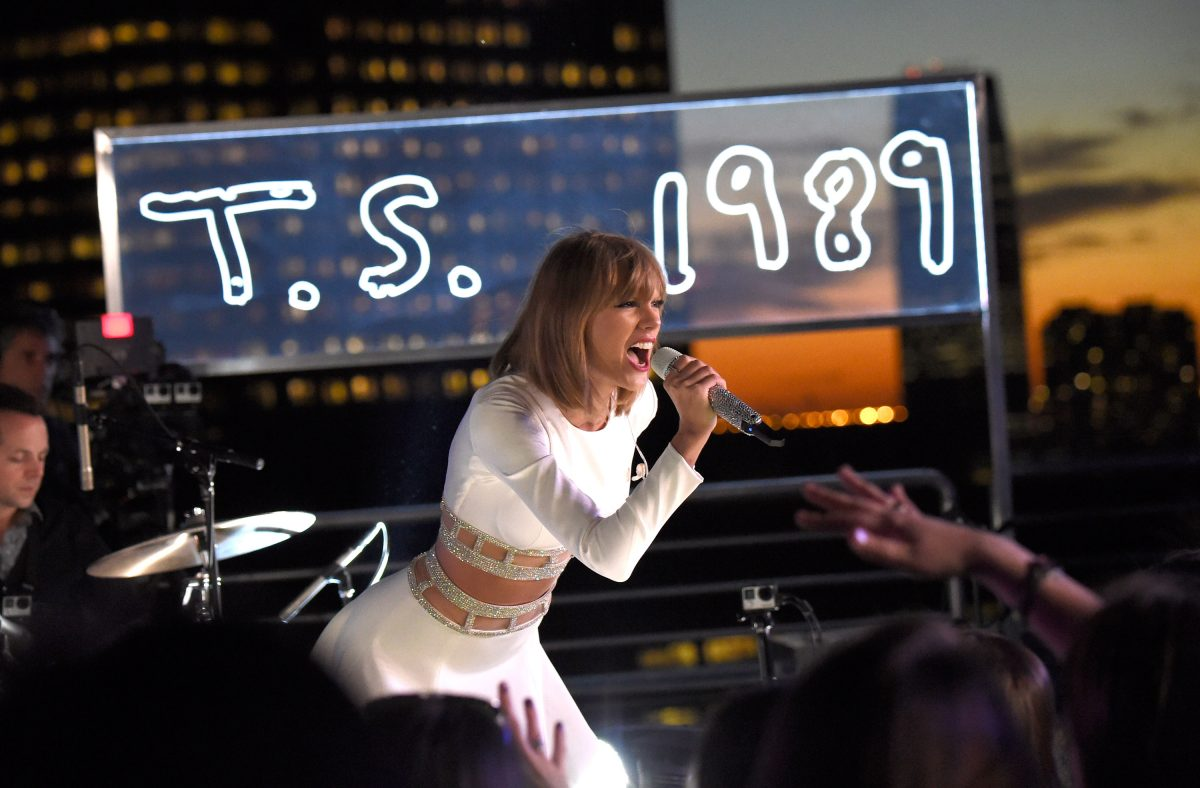 Taylor Swift spoke during her secret 1989 session with iHeartRadio on October 27, 2014 in New York City.