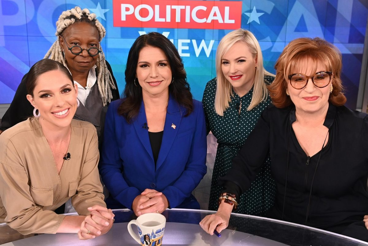 Co-hosts of 'The View' with Tulsi Gabbard in 2019