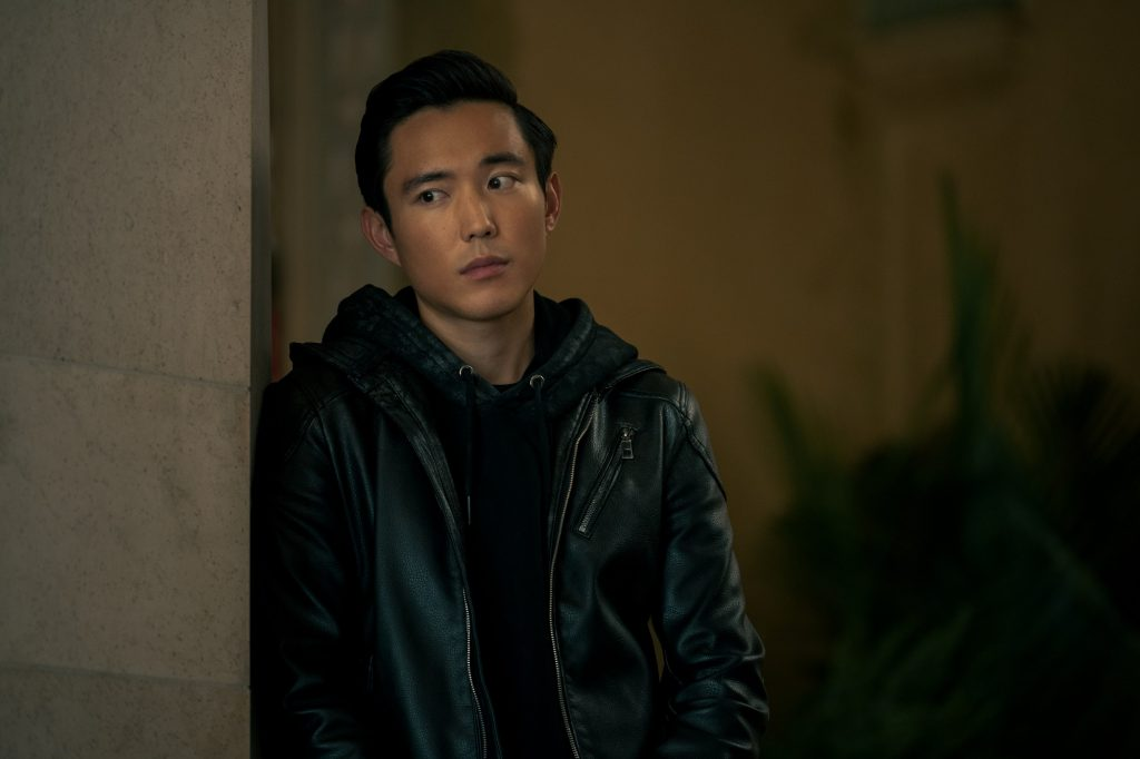 Justin H. Min as Ben Hargreeves in 'The Umbrella Academy'