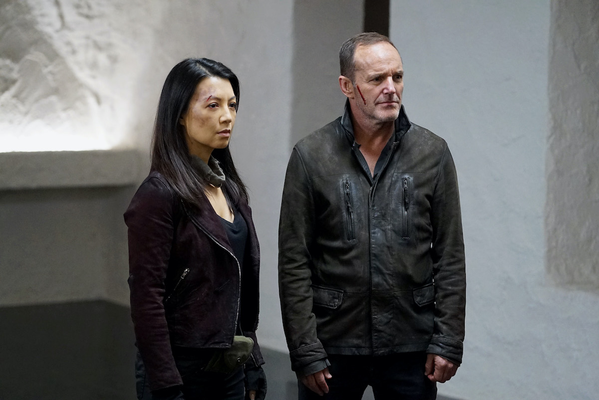 Ming-Na Wen and Clark Gregg on 'Agents of S.H.I.E.L.D.'
