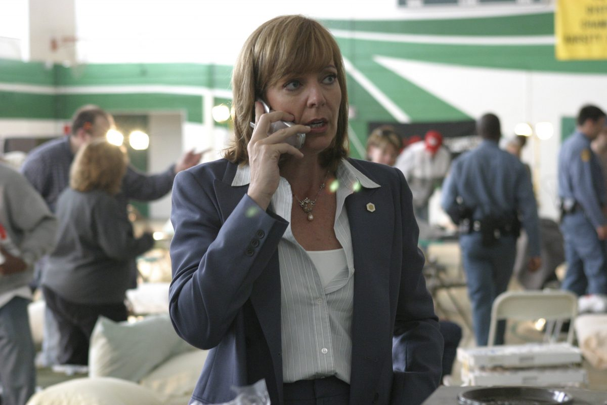 Allison Janney as C.J. Cregg on 'The West Wing'