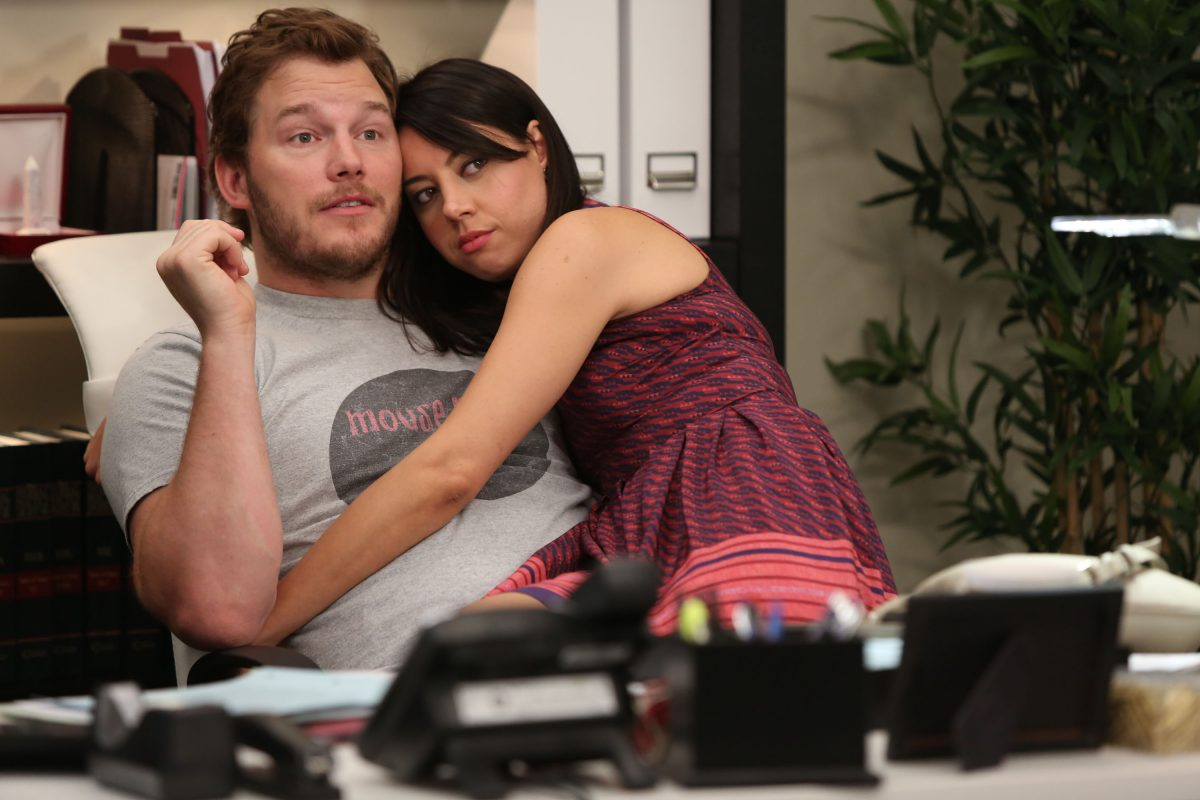 Andy and April from 'Parks and Recreation'