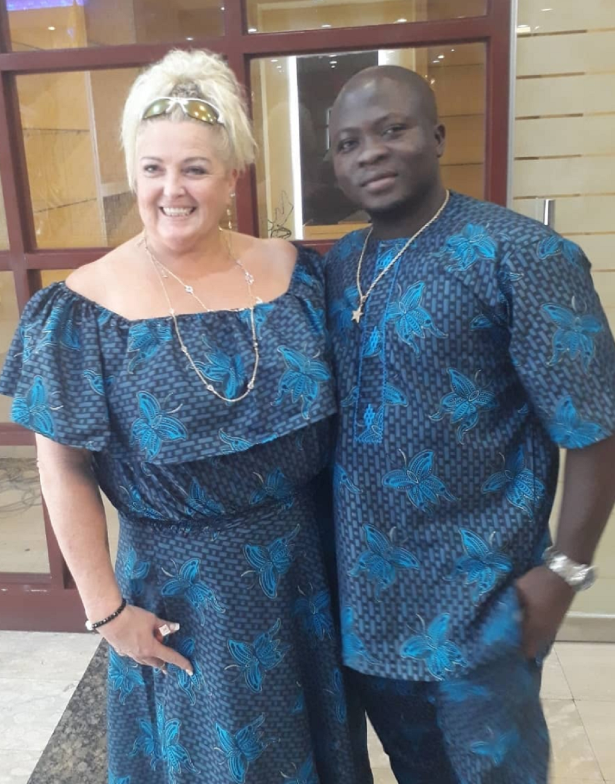 Angela Deem and Michael Ilesanmi
