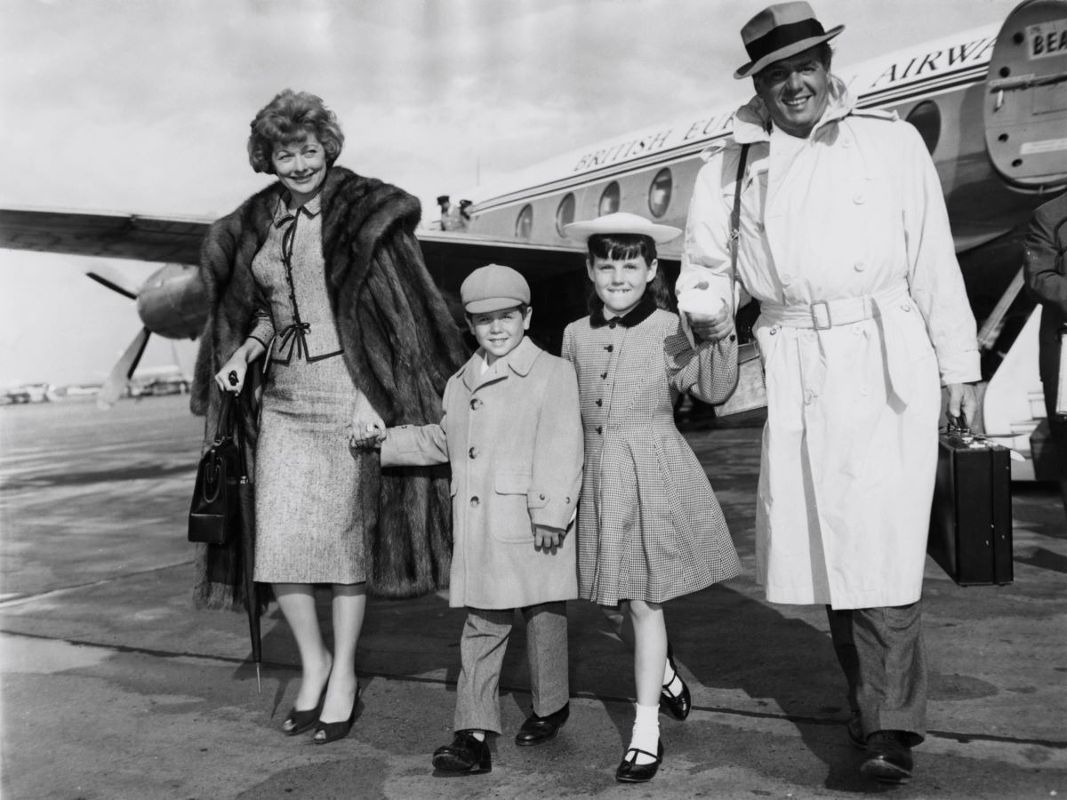 Lucille Ball Desi Arnaz and family