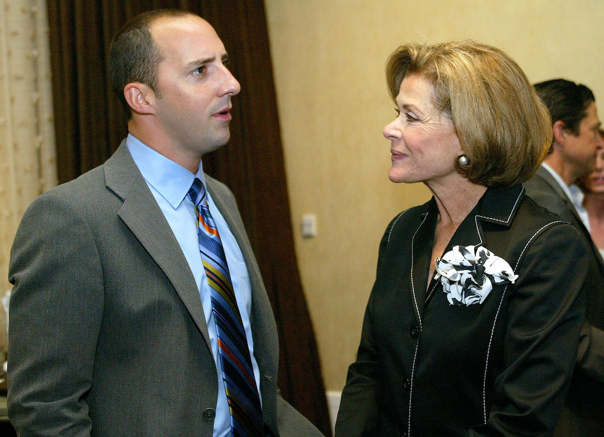 Tony Hale and Jessica Walter of 'Arrested Development'