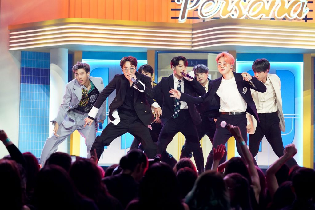 BTS performs at the 2019 Billboard Music Awards