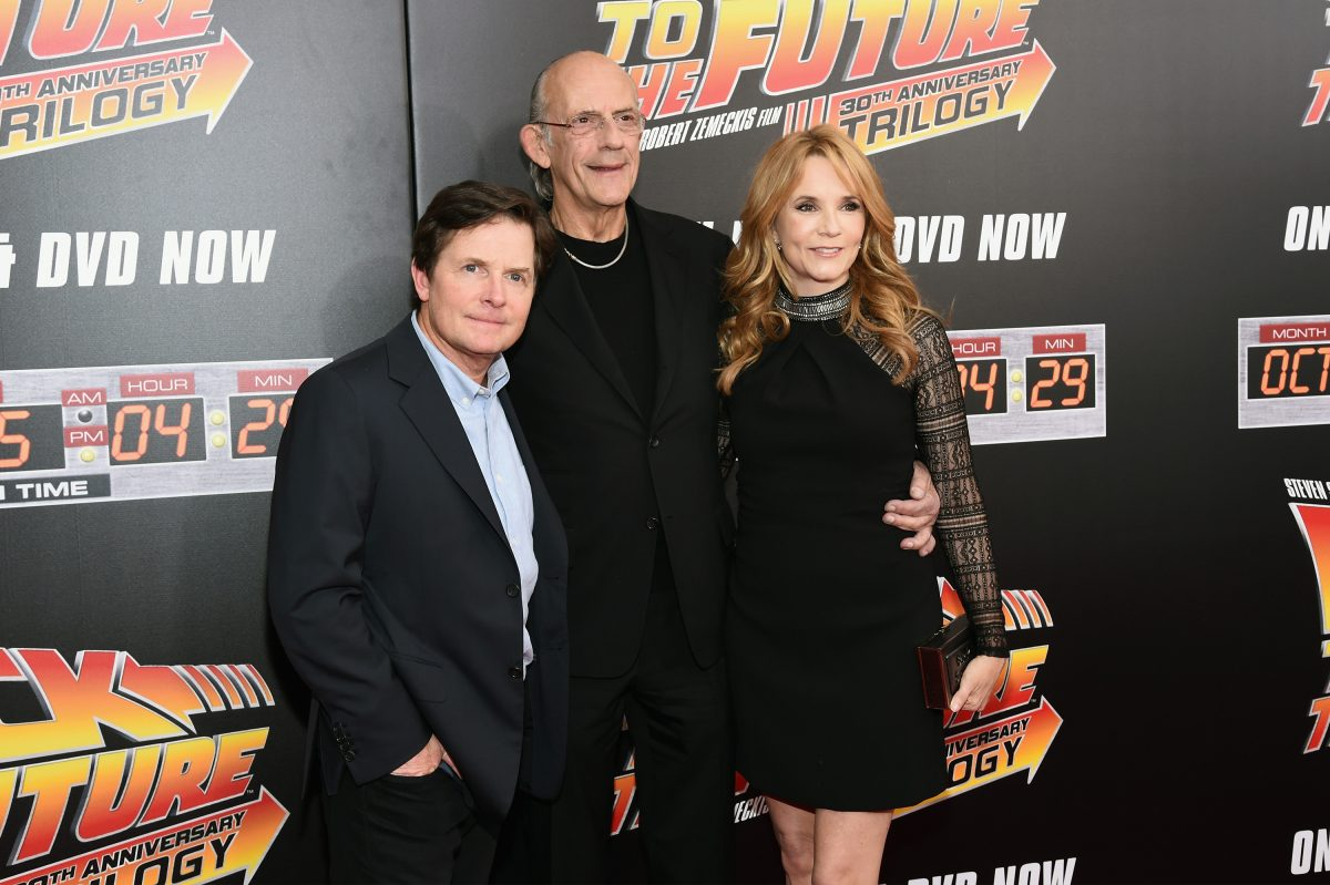 'Back To The Future' Cast