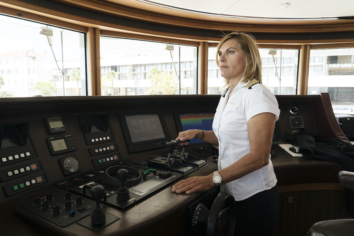 Sandy Yawn from 'Below Deck Med'