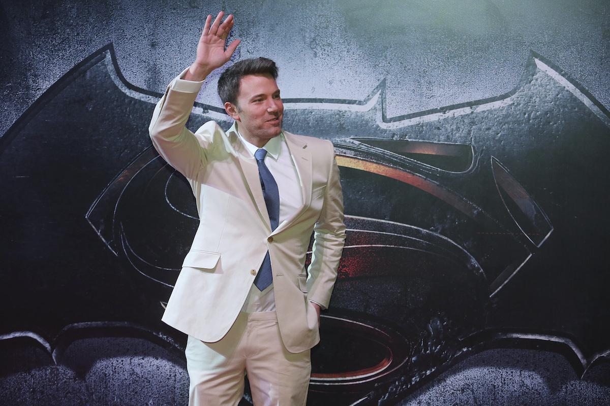 Ben Affleck at the 'Batman v Superman: Dawn of Justice' premiere