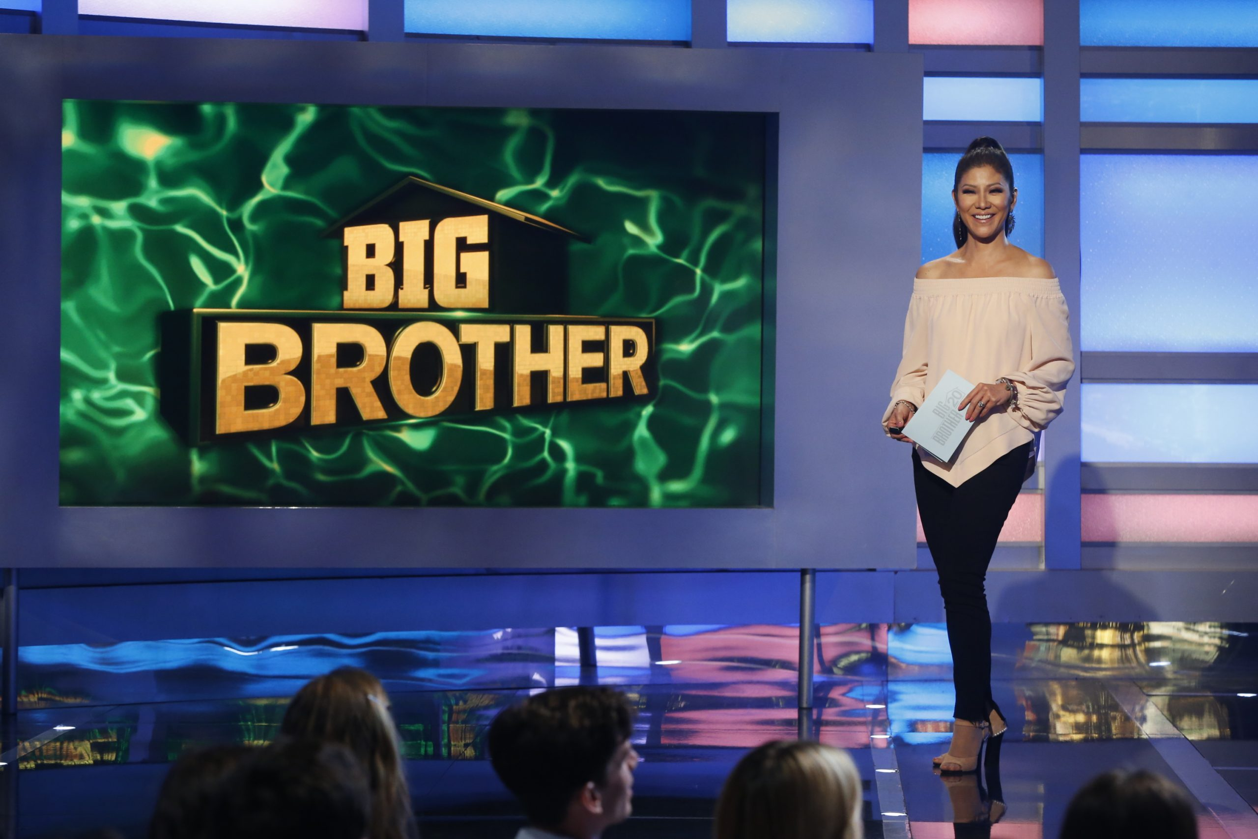 Big Brother host Julie Chen on live eviction night