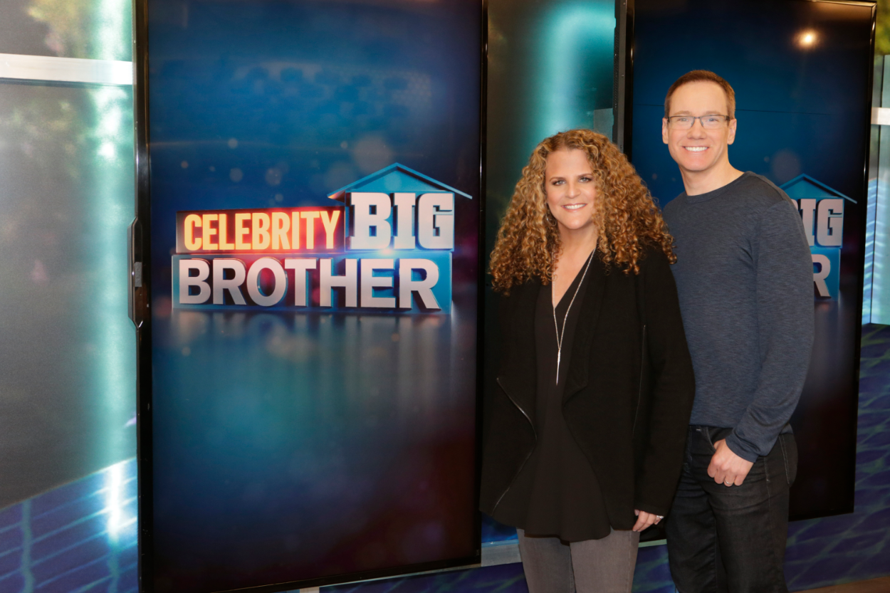 Allison Grodner and Rich Meehan are Executive Producers on the first-ever celebrity edition of Big Brother in the U.S. on the CBS Television Network
