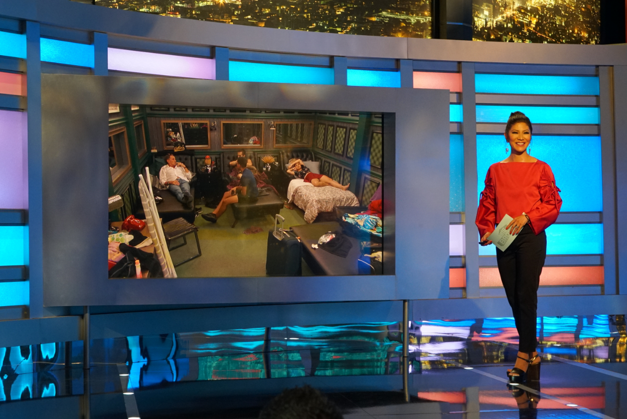 Host Julie Chen on CBS series Big Brother 19