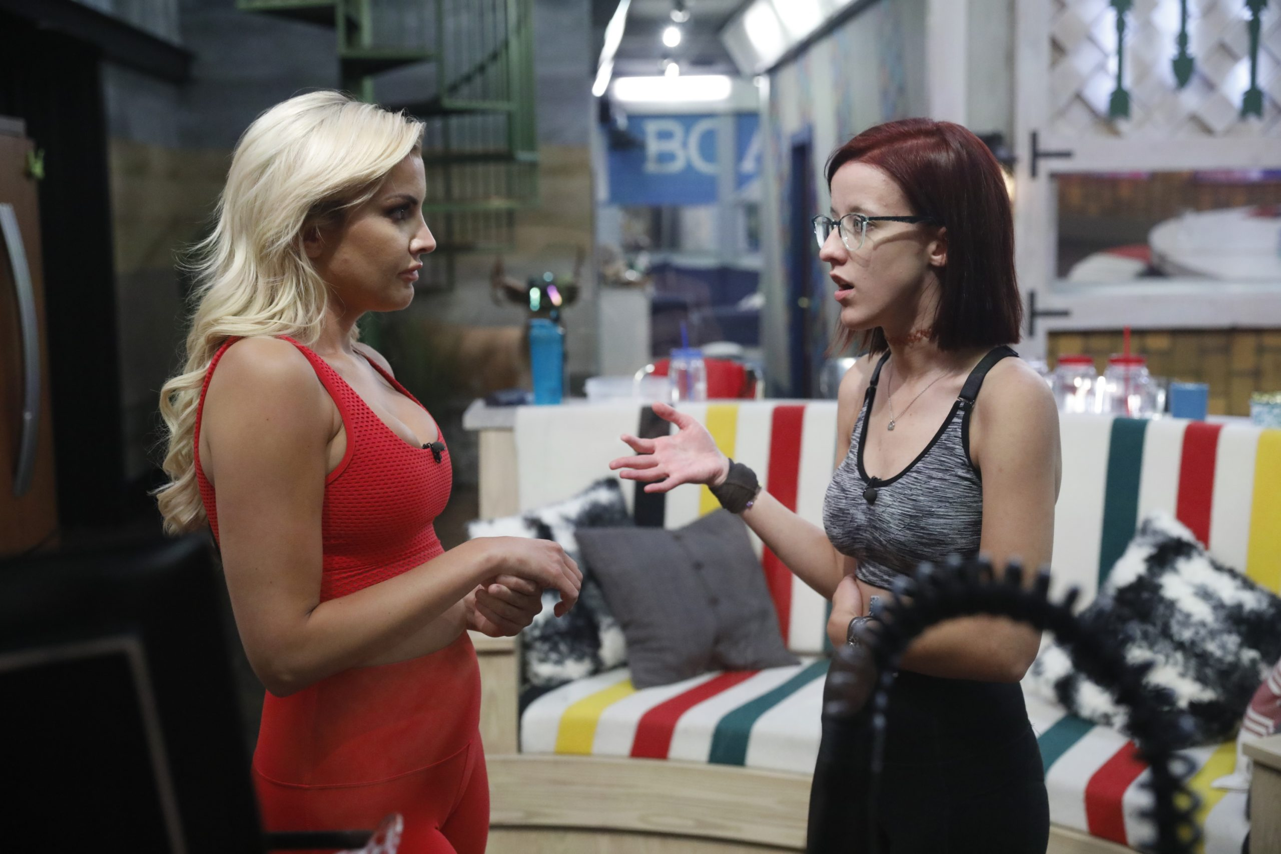 Kathryn Dunn and Nicole Anthony on 'Big Brother 21'