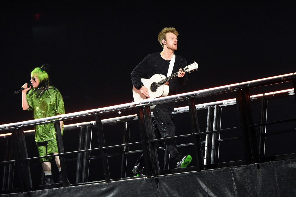 Billie Eilish and Finneas O'Connell perform live