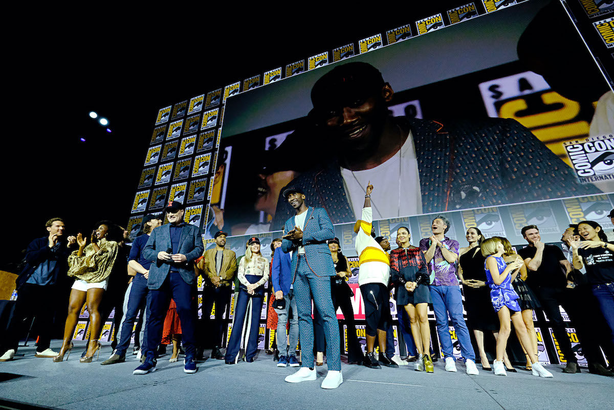 Mahershala Ali at the 2019 San Diego Comic-Con