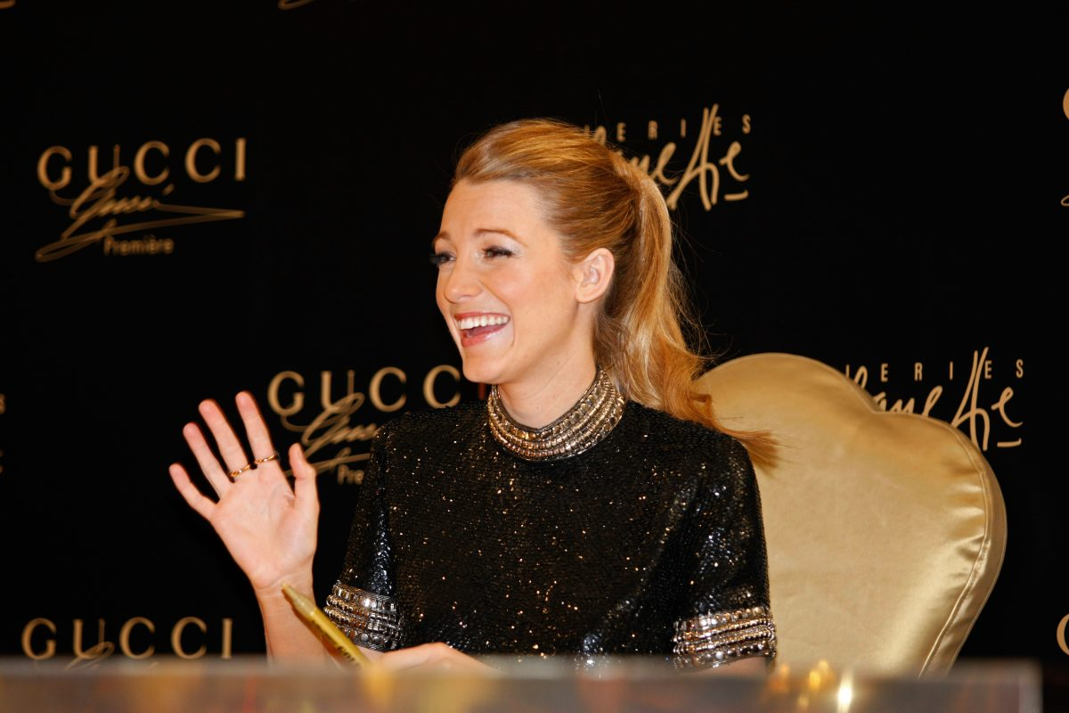 Blake Lively makes a personal appearance for Gucci In Dubai