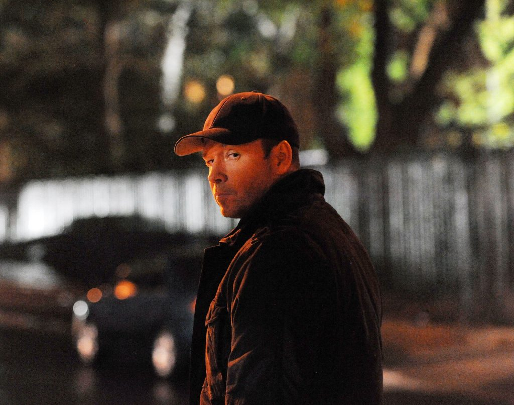 Donnie Wahlberg on 'Blue Bloods' looking over his shoulder
