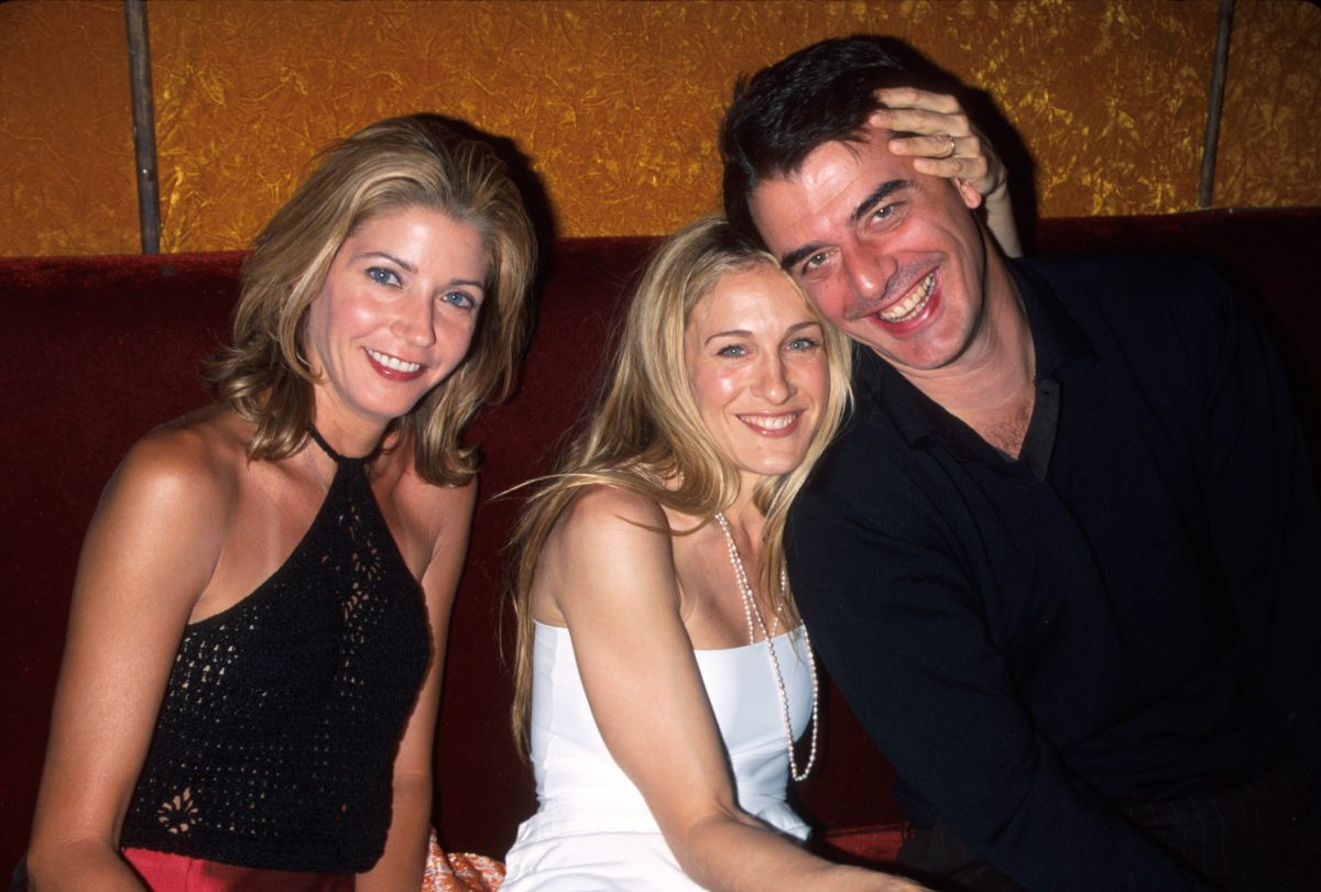 Candace Bushnell, Sarah Jessica Parker and Chris Noth
