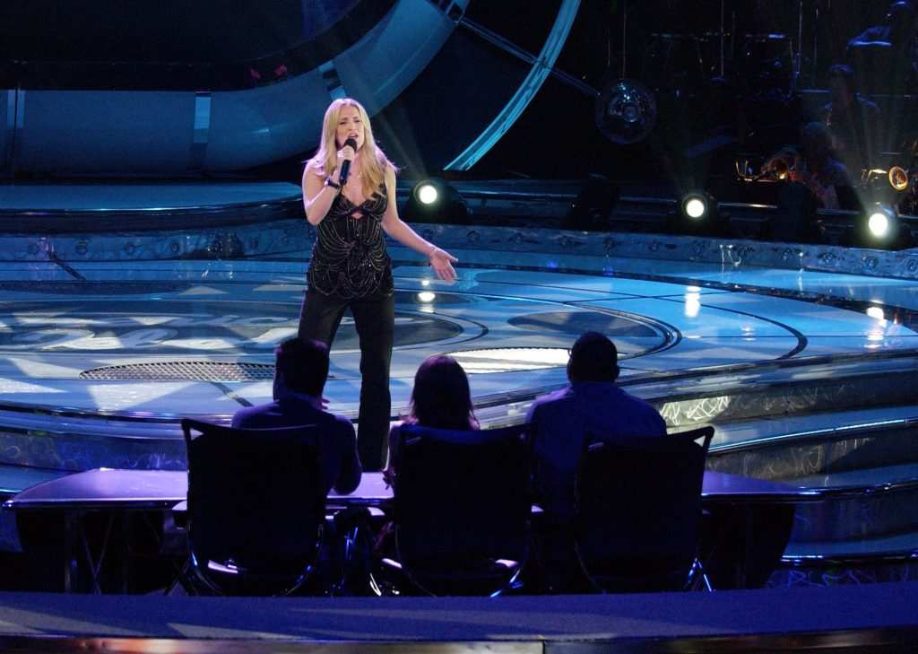 Carrie Underwood during her 'American Idol' audition | Ray Mickshaw/WireImage