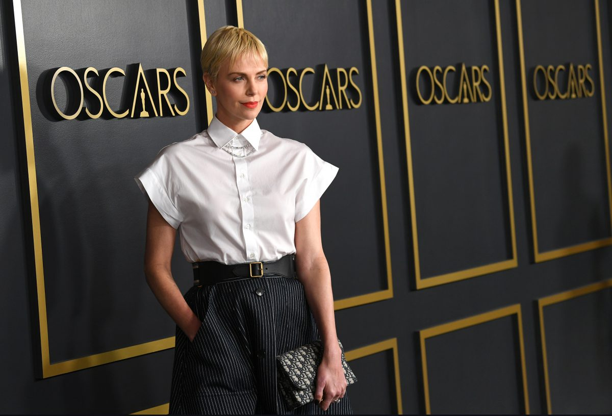 Charlize Theron Oscar nominee lunch