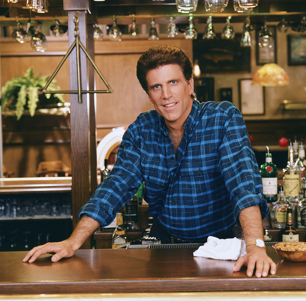 Ted Danson as Sam Malone on Cheers