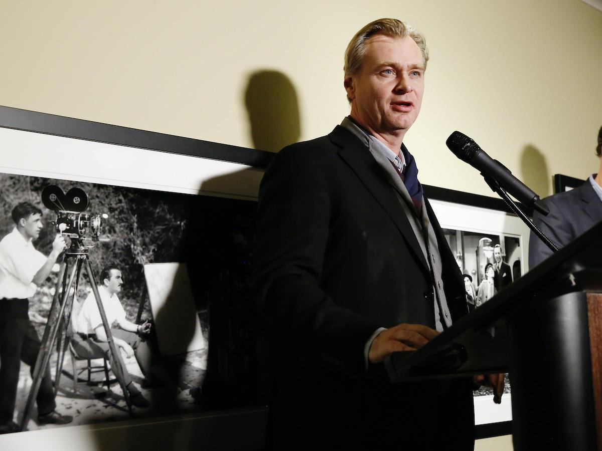 Christopher Nolan (Christopher Nolan) at the Kodak Film Awards