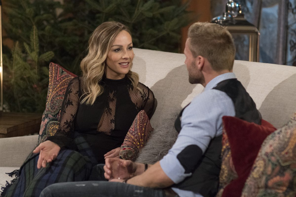 Clare Crawley on 'The Bachelor Winter Games'