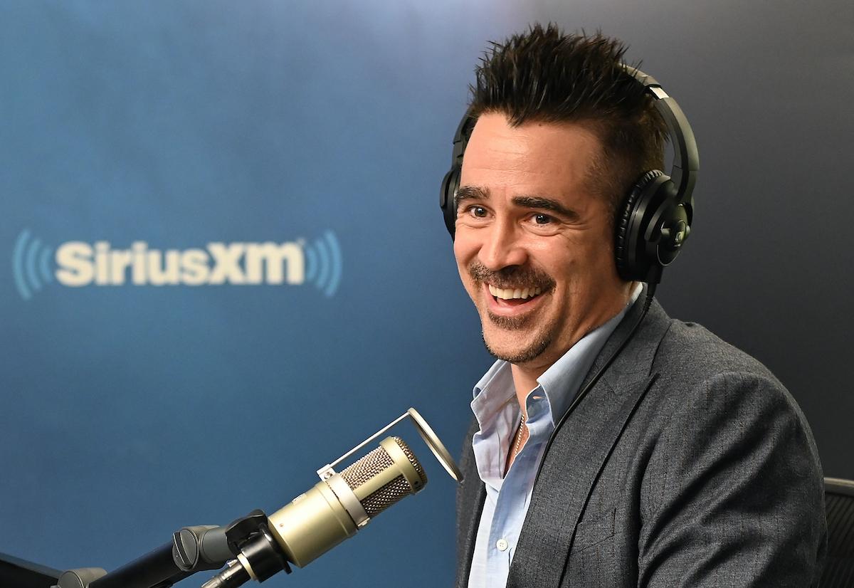 Colin Farrell at SiriusXM Studios