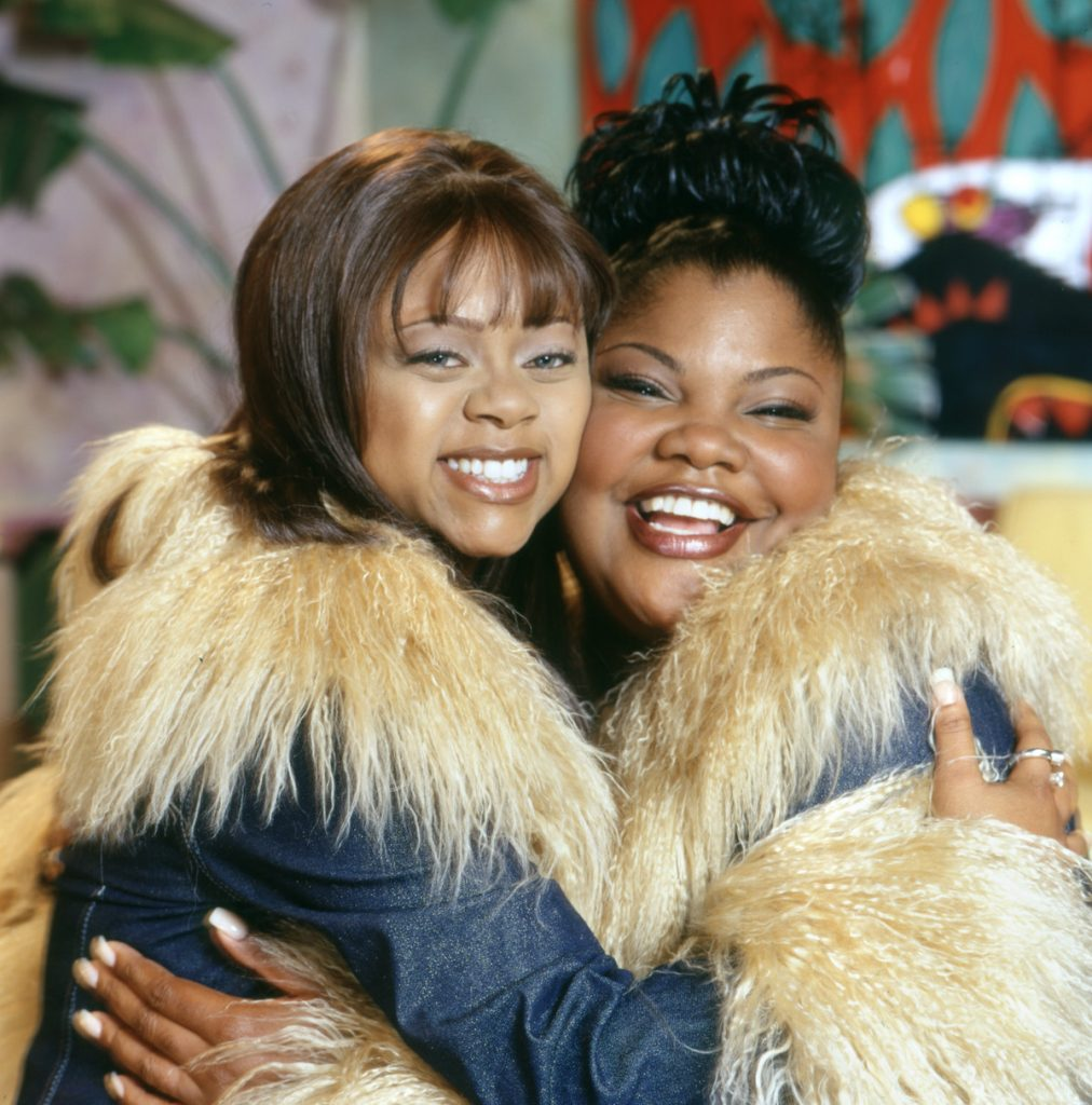 Countess Vaughn (as Kimberly Ann Parker), Mo'Nique (as Nikki Parker) of 'The Parkers'