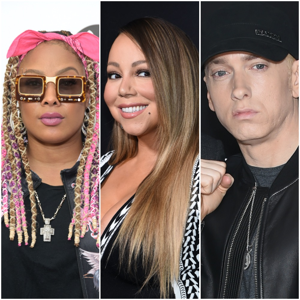 Da Brat, Mariah Carey, and Eminem