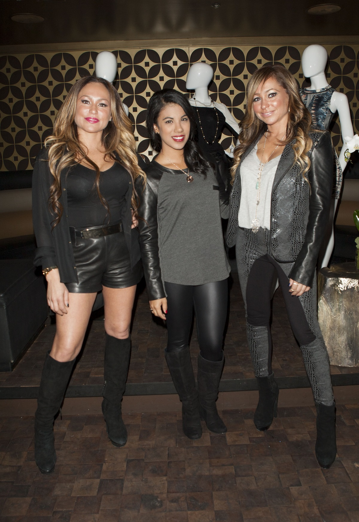 Stacey Silva, Chrissie Fit, and Darcey Silva