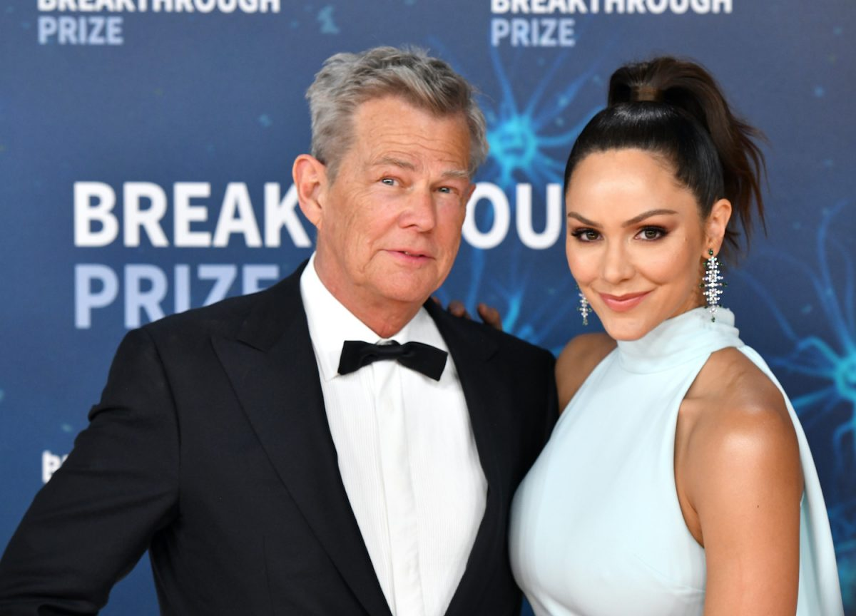 David Foster and Katharine McPhee attend the 2020 Breakthrough Prize