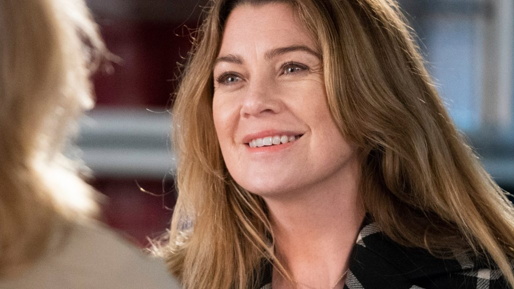 "Ellen Pompeo as Meredith Grey on 'Grey's Anatomy' Season 15 ""We Didn't Start the Fire"""