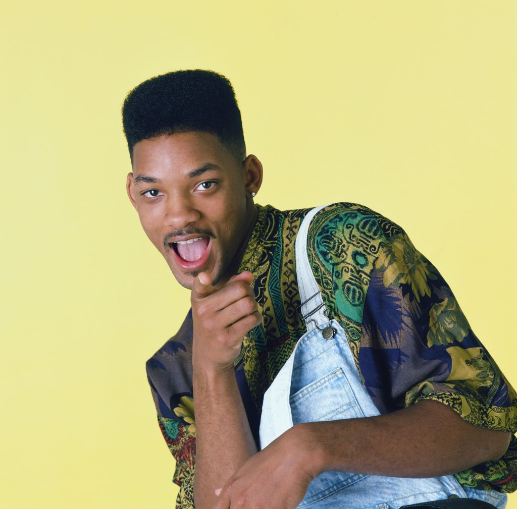 Will Smith as the Fresh Prince of Bel-Air