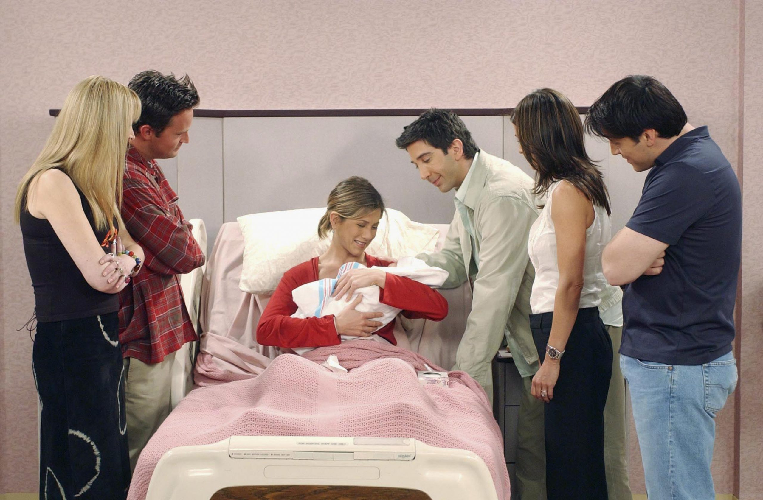 Friends 'The One Where Rachel Has a Baby: Part 2'