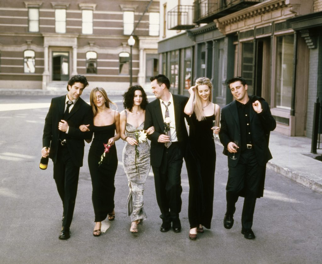 The cast of 'Friends' | NBCU Photo Bank/NBCUniversal via Getty Images via Getty Images